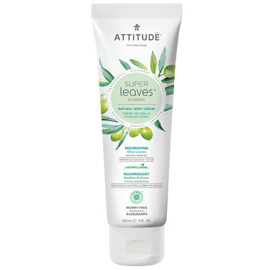 ATTITUDE Super Leaves Natural Body Cream Nourishing