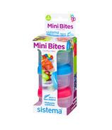Sistema Mini Bites To Go 3 Pack