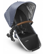 UPPAbaby Vista Rumble Seat Henry Blue Marl with Leather