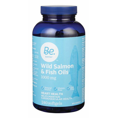Be Better Wild Salmon and Fish Oils