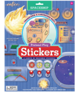 eeboo Spaceship Pretend Play Stickers
