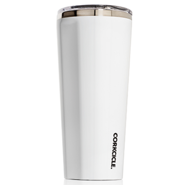 Corkcicle Tumbler Gloss White