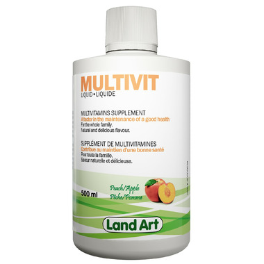 Land Art Multivit Liquid by Well