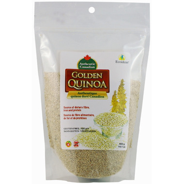 Ecoideas Authentic Canadian Organic Golden Quinoa