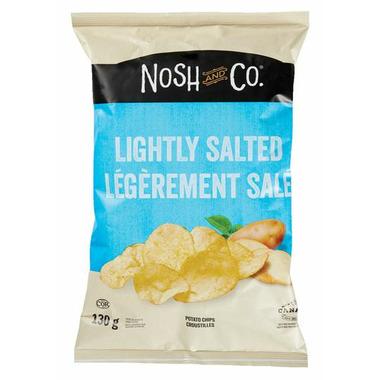 Nosh & Co. Potato Chips Lightly Salted