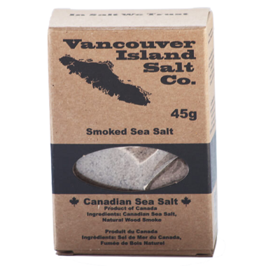 Vancouver Island Salt Co. Smoked Canadian Sea Salt
