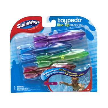 SwimWays Toypedo Light Up Bandits