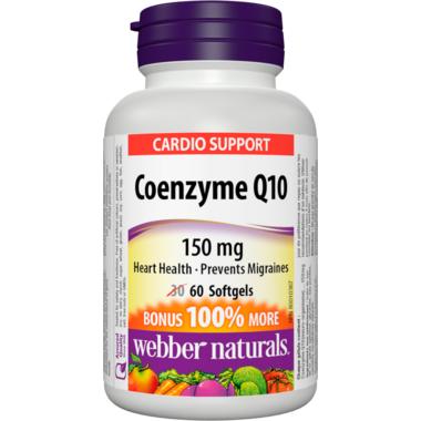 Webber Naturals Coenzyme Q10 150 mg