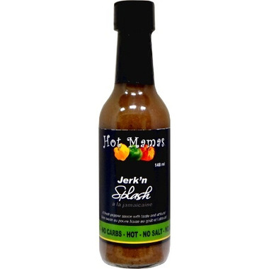 Hot Mamas Jerk\'n Hot Splash Hot Sauce