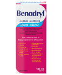 Benadryl Allergy Medicine Liquid