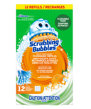 Scrubbing Bubbles Toilet Fresh Brush Flushable Refills Citrus