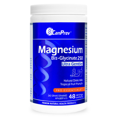 CanPrev Magnesium Bis-Glycinate Drink Mix Tropical Fruit Punch