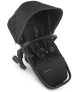 UPPAbaby VISTA V2 Rumbleseat Jake Black Carbon Black Leather