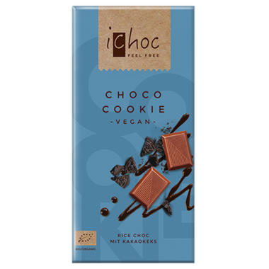 Ichoc Choco Cookie Chocolate Bar