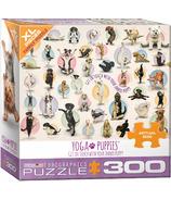Eurographics Yoga Puppies Puzzle