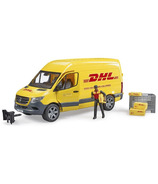 Bruder Toys MB Sprinter DHL Truck with Driver