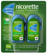 NICORETTE Pastilles à la nicotine Menthe 4mg