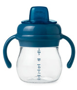 OXO Tot Transitions Soft Sippy Spout Cup with Handles Navy