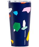 Corkcicle Poketo Tumbler Confetti Blue