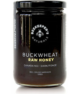Beekeeper's Naturals Dark Buckwheat Raw Honey