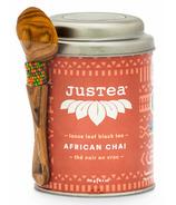 JusTea Loose Leaf Black Tea African Chai