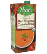 Pacific Organic Roasted Red Pepper & Tomato Soup