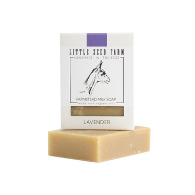 Little Seed Farm Lavender Bar Soap