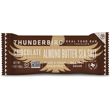 Thunderbird Real Food Bars Chocolate Almond Butter Sea Salt