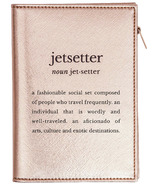 MYTAGALONGS Stella Definitions Rose Gold Passport Case