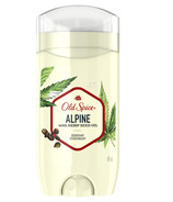 Old Spice Deodorant for Men, Alpine with Hemp Seed Oil, Aluminum Free