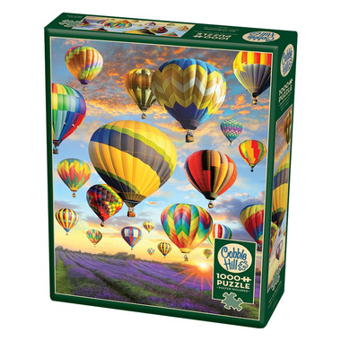 Cobblehill Hot Air Balloons Puzzle