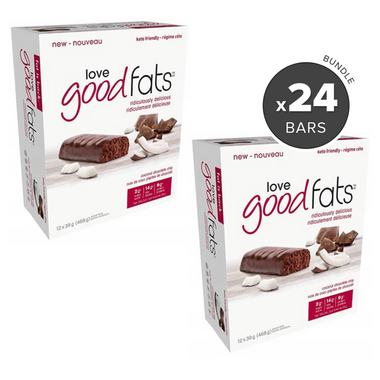 Love Good Fats Coconut Chocolate Chip Snack Bar Bundle