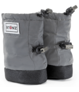Stonz Baby Puffer Booties Reflective Silver