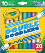 Crayola Double Doodlers Dual-Ended Markers Washable