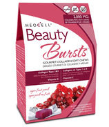 NeoCell Beauty Bursts Gourmet Collagen Soft Chews Fruit Punch
