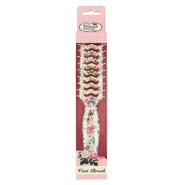 The Vintage Cosmetics Company Vent Hair Brush Floral