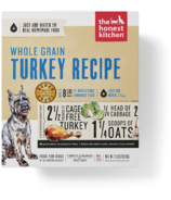 The Honest Kitchen Whole Grain Turkey Dog Food Recipe