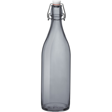 Bormioli Rocco Giara Bottle with Stopper Grey