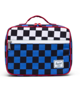 Herschel Supply Pop Quiz Lunch Box Multi Colours with White Checker