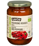 Savor Organic Roasted Red Peppers