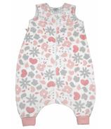Perlimpinpin Plush Toddler Sleep Bag Pink Garden