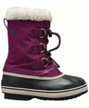 Sorel Children's Snowboot Yoot Pac Nylon Wild Iris & Dark Plum