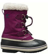 Sorel Children's Yoot Pac Nylon Wild Iris & Dark Plum