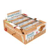 Simply Protein Whey Protein Bars Apple Cinnamon Case
