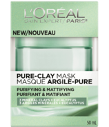 L'Oreal Purifying & Mattifying Pure Clay Mask