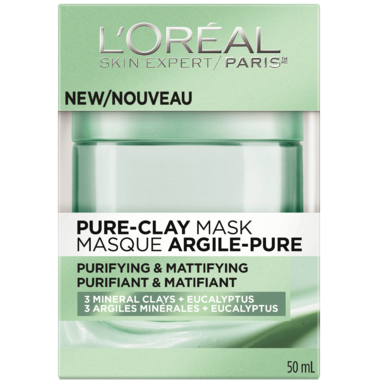 L\'Oreal Purifying & Mattifying Pure Clay Mask