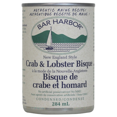 Bar Harbor New England Style Crab & Lobster Bisque