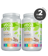 Vega One All-In-One Coconut Almond Nutritional Shake 2 Pack Bundle