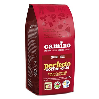 Camino Organic Perfecto Dark Roast Blend Ground Coffee