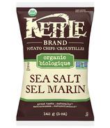 Chips au sel de mer biologique Kettle